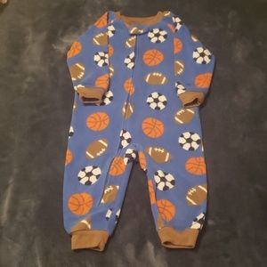 Carters 18 month pajamas footless